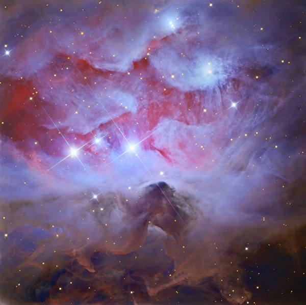 NGC 1977 in the constellation Orion