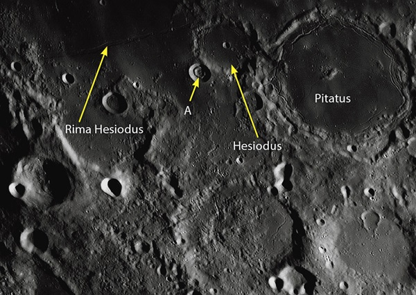 Hesiodus Crater