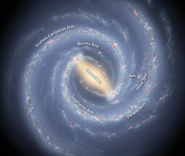 How The Milky Way Got A Brand New Look Astronomy Com