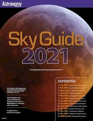 Astronomy magazine Sky Guide 2021 cover