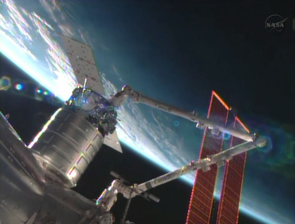 Cygnus commercial resupply craft for ISS