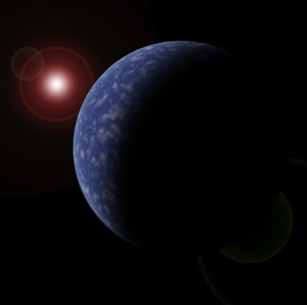 dwarf star with planet