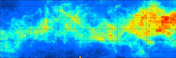 3-D map shows dusty structure of the Milky Way