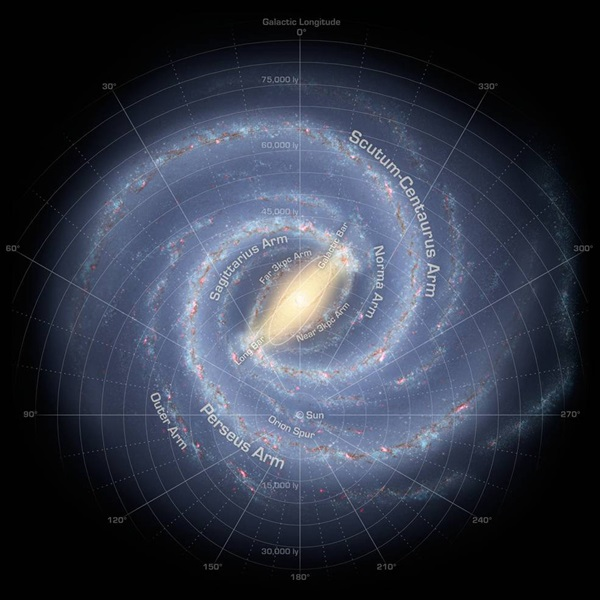 Charting The Milky Way From The Inside Out Astronomy Com
