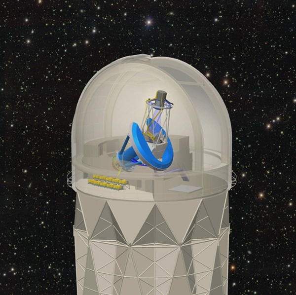 Dark Energy Spectroscopic Instrument-Mayal telescope