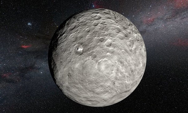 Bright spots on Ceres
