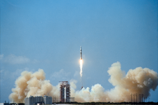 Apollo7Liftoff