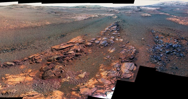 Opportunity rover left us with one last beautiful panorama of Mars