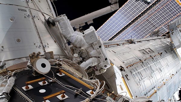 ISS gets a new docking port for future spaceships | Astronomy.com
