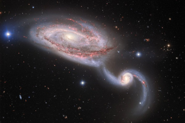 GalaxyCollisionNGC5394andNGC5395