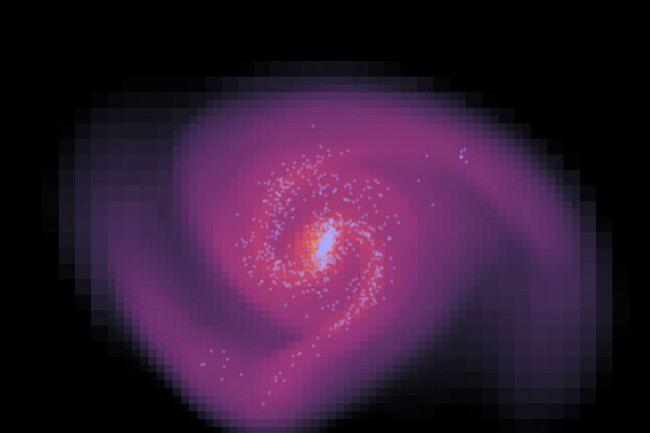 dark_matter_galaxy_simulation