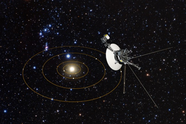 Voyager 2 look back