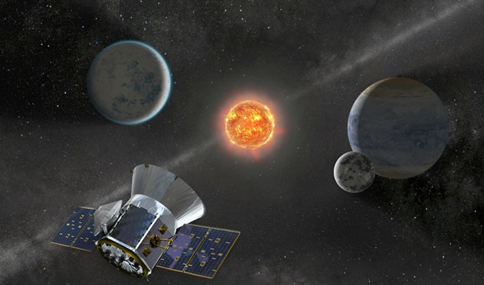 NASA's Transiting Exoplanet Survey Satellite, or TESS