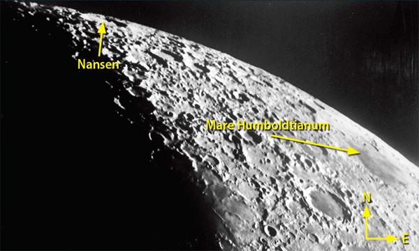 Mare Humboldtianum and Nansen
