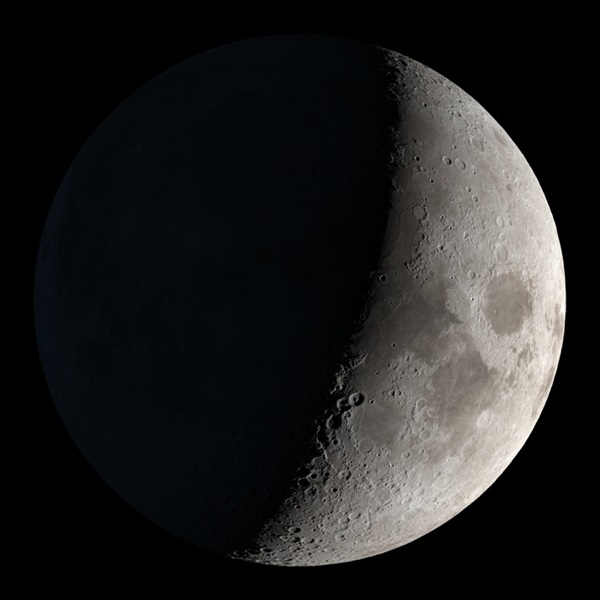 The Moon as it will appear November 20, 2020