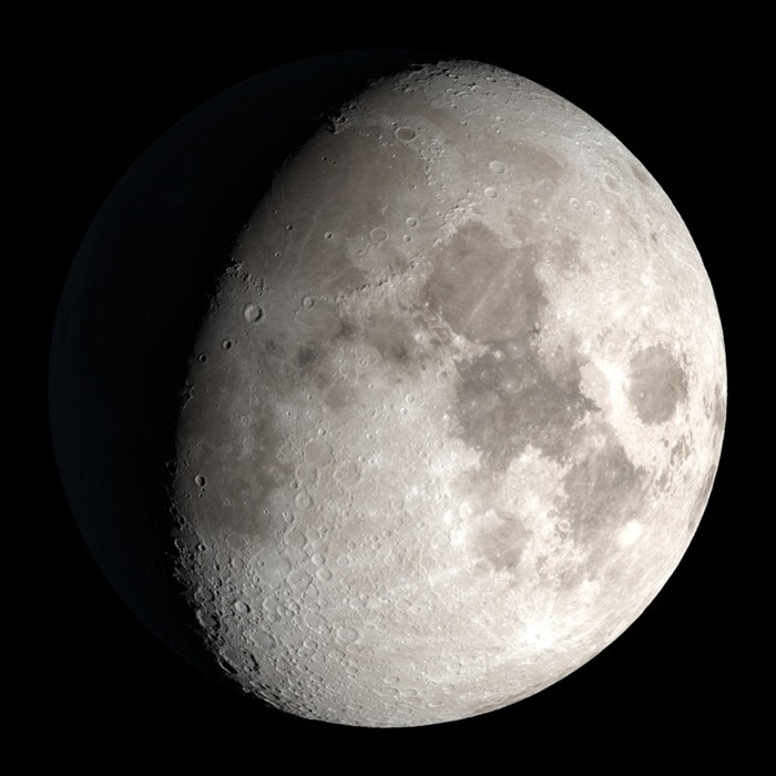The Moon on September 26, 2020