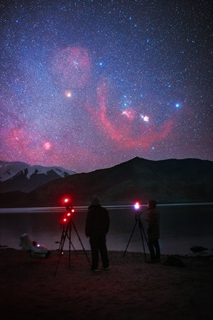 Photographing Orion