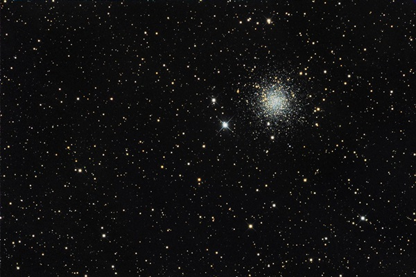M72 is the faintest of the 29 globular clusters listed in Messier's catalog.