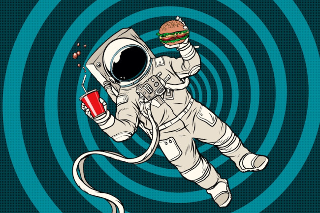 How do scientists build the greatest eating plan for astronauts?