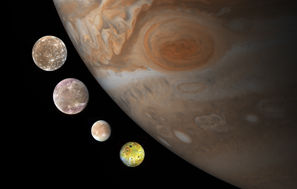 Astronomers re-create the formation of Jupiter's Galilean moons using new  theory | Astronomy.com