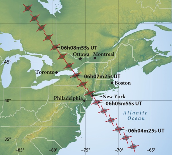 asteroid 163 Erigone will occult 1st-magnitude Regulus in Leo