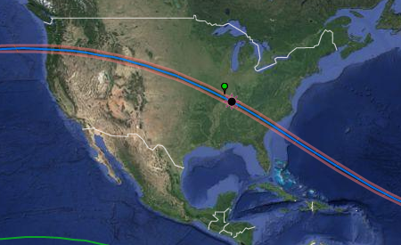 Great American Eclipse Path
