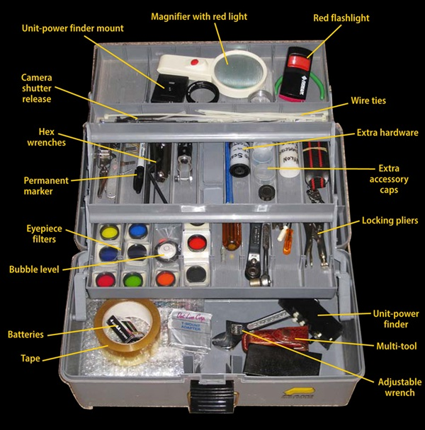 Observing Basics: What's in Your Observing Kit ...