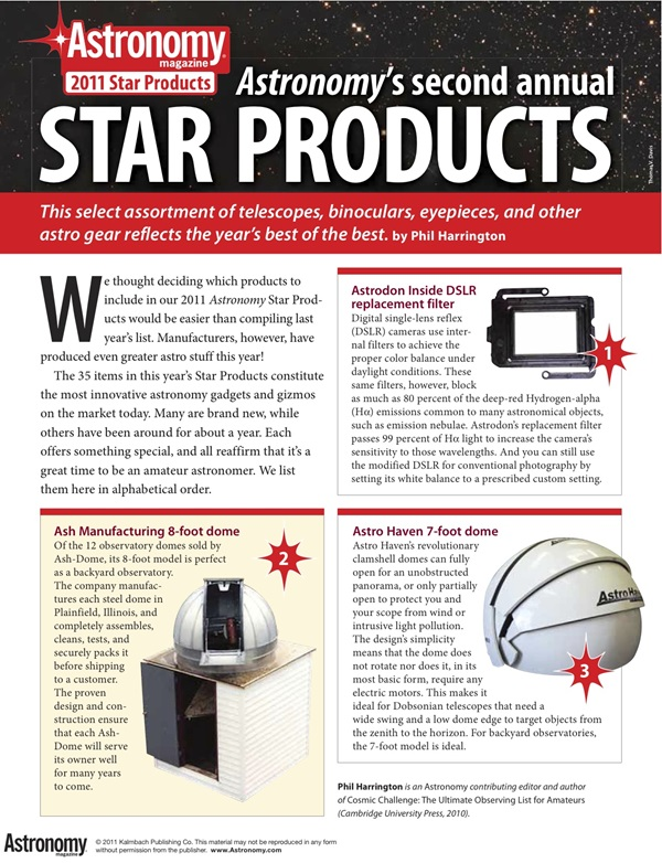 ASY Star Products 2011