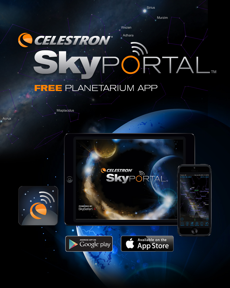 Introducing Celestron's SkyPortal: A Free App to Help You