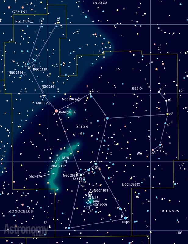 Although it's considered a signpost of the northern winter sky, Orion ...