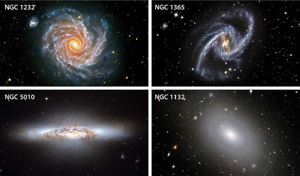 three shapes of galaxies - photo #3