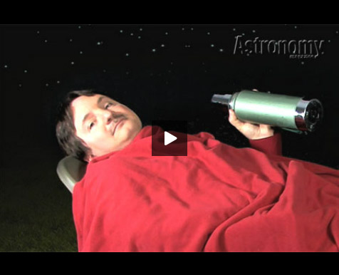 How to observe meteor showers video