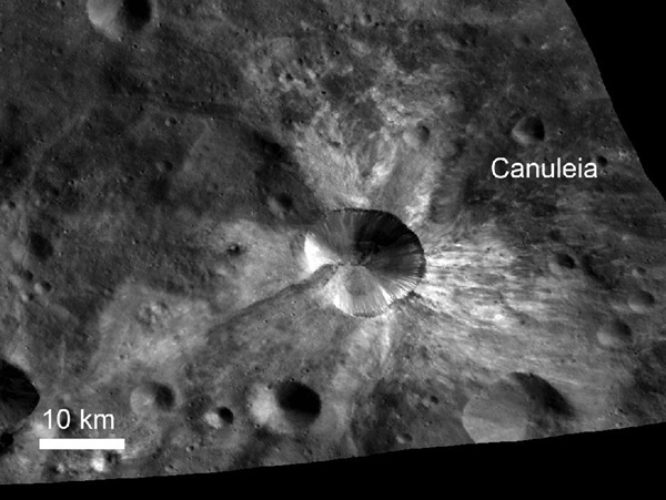 Canuleia on Vesta