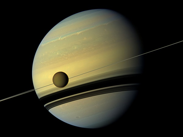 Titan-and-Saturn