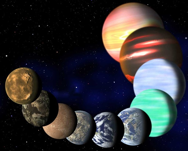 Variety-of-planets