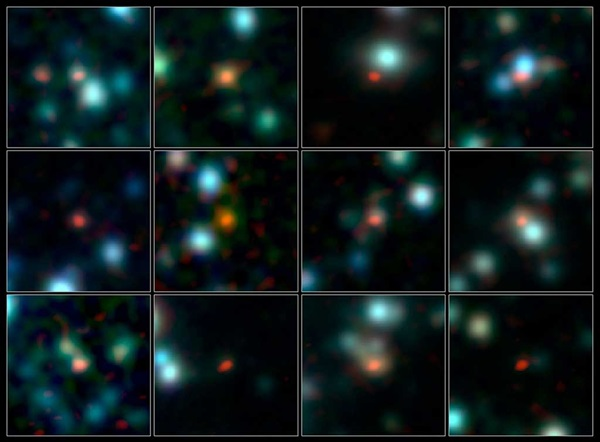 ALMA-pinpoints-early-galaxies
