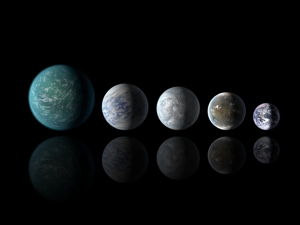 Earth-sized exoplanets