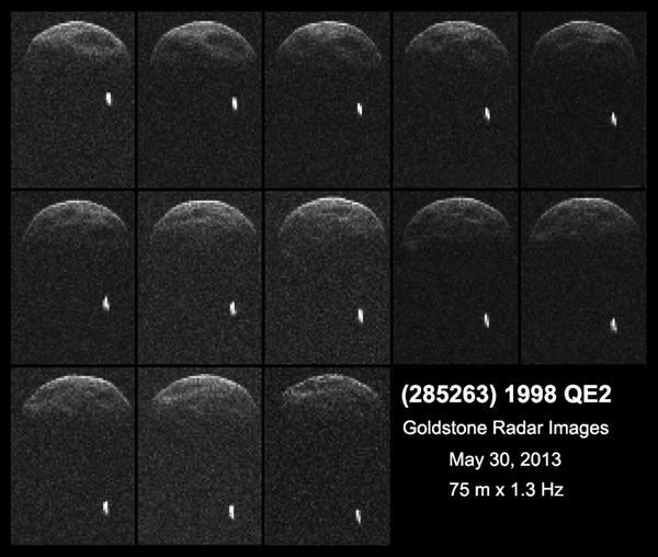 Asteroid 1998 QE2 binary