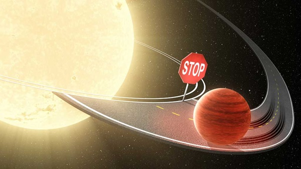 Hot Jupiters are known to migrate from their stars frigid outer reaches in toward the star's blistering heat.
