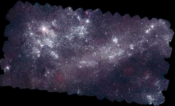 Swift mosaic of the Large Magellanic Cloud