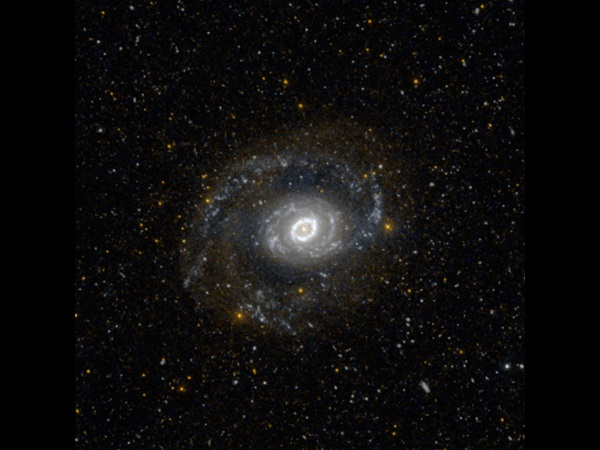 Spiral galaxy M94 by GALEX