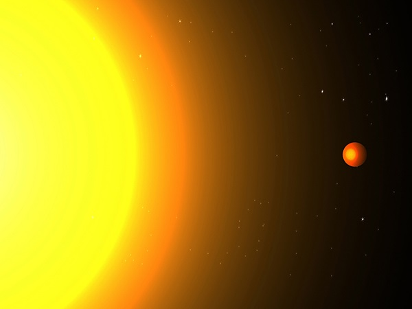 Exoplanet orbits its star in 8.5 hours