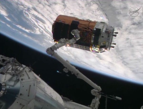 International Space Station HTV4 grapple