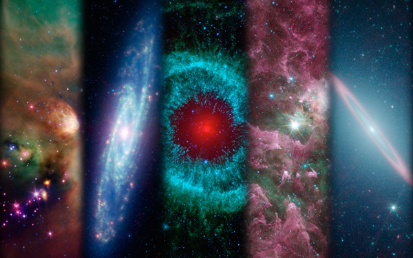 Images taken by Spitzer Space Telescope