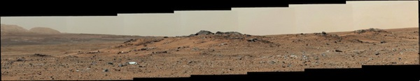 The view on Curiosity's 343rd day on Mars