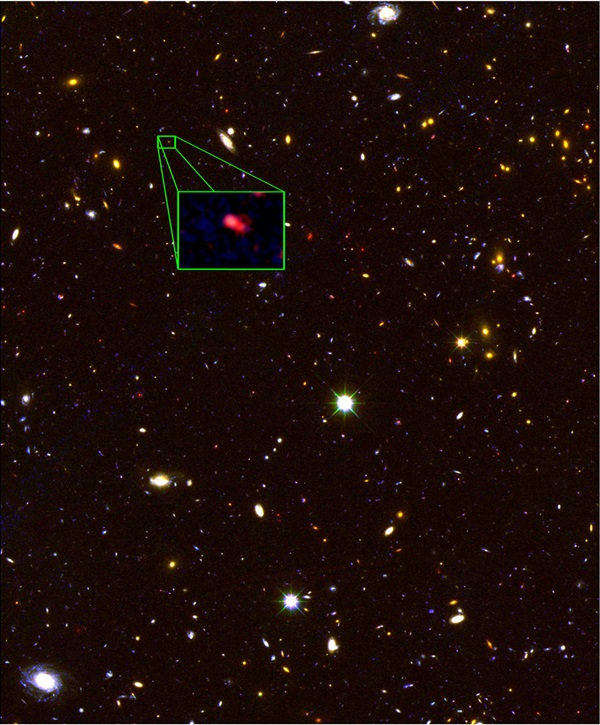 Distantgalaxydiscovered