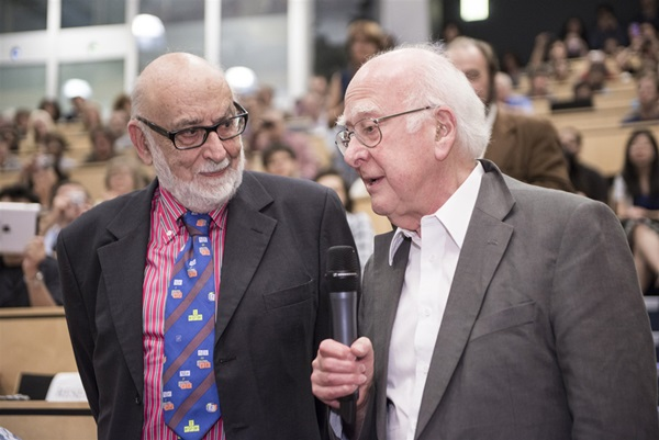 Nobel Prize for physics awarded to Francois Englert and Peter Higgs