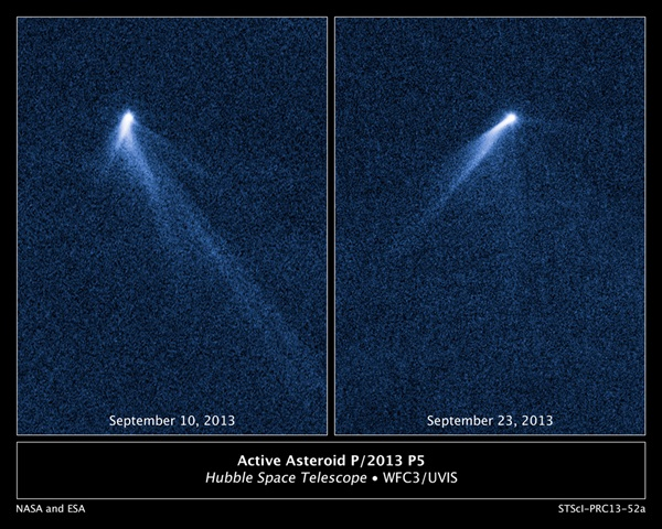 Asteroid P/2013 P5