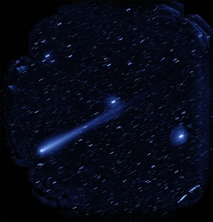 Comet ISON imaged by HSC November 5, 2013