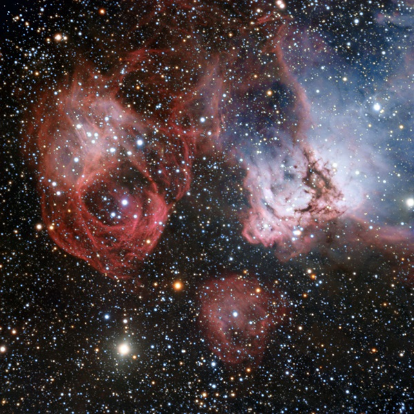 The Large Magellanic Cloud, which is one of the closest galaxies to our own